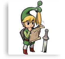 The Legend Of Zelda Metal Print