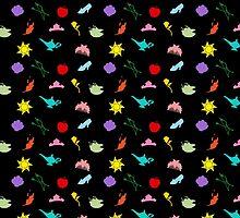 Princess Symbol Pattern Variant by lunalalonde