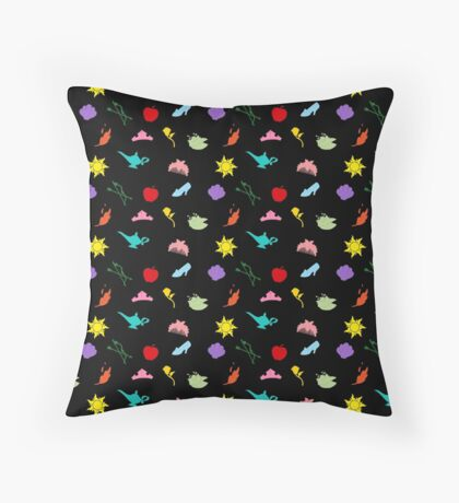 Princess Symbol Pattern Variant Throw Pillow