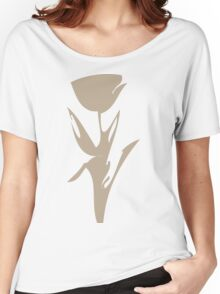The Neutral Poppy Women's Relaxed Fit T-Shirt
