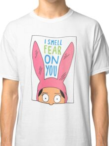 Top Seller - Louise Belcher: I Smell Fear on You (animated print) Classic T-Shirt