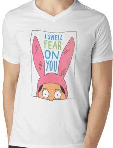 Top Seller - Louise Belcher: I Smell Fear on You (animated print) Mens V-Neck T-Shirt