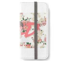 WILD Floral Pink Cover iPhone Wallet/Case/Skin