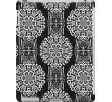 Openwork seamless pattern. Ornament black and white. iPad Case/Skin