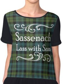 Sassenach Lass with Sass Chiffon Top