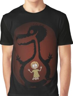 Monster's Gut (The Monsters Video Art) Graphic T-Shirt