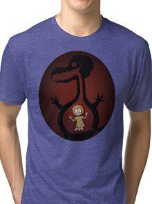 Monster's Gut (The Monsters Video Art) Tri-blend T-Shirt