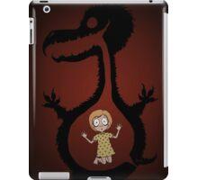 Monster's Gut (The Monsters Video Art) iPad Case/Skin