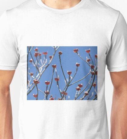 Blue Brilliance + Cornus Florida Unisex T-Shirt