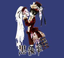 ciel kissing the skull black butler Unisex T-Shirt