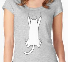 Struggling Cat Women's Fitted Scoop T-Shirt