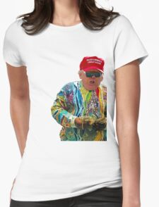 Donald Smalls Womens Fitted T-Shirt