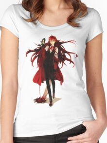 grell loves his blood Women's Fitted Scoop T-Shirt