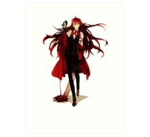 grell loves his blood Art Print