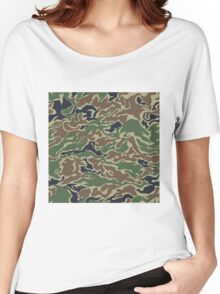 CAMOUFLAGE-WOODLAND Women's Relaxed Fit T-Shirt