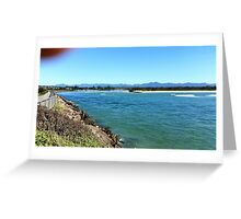 Down by the sea / Urunga NSW, Mid North Coast Greeting Card