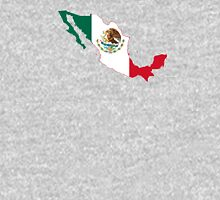 Flag Map of Mexico  Unisex T-Shirt