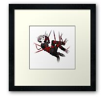 ciel trapped in vines of time Framed Print
