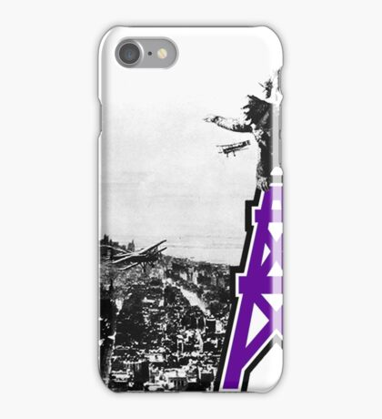 Oilers Kong iPhone Case/Skin