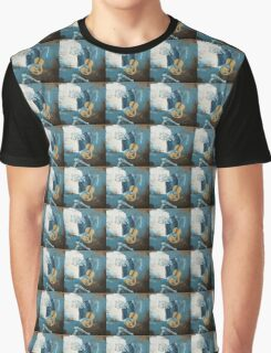 The Old Guitarist: A Picasso Study Graphic T-Shirt