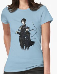 sebastian and ciel back to back  Womens Fitted T-Shirt