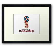 World Cup Russia 2018 Framed Print
