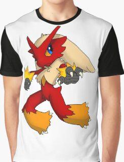 Pokemon Blaziken Chibi Graphic T-Shirt