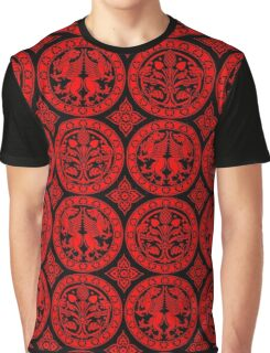 BROCADE-RED 2 Graphic T-Shirt