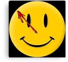 Watchmen Smiley Canvas Print