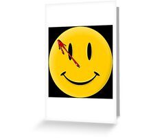 Watchmen Smiley Greeting Card
