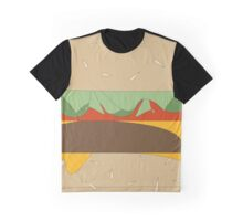 Cheeseburger Takeover Graphic T-Shirt