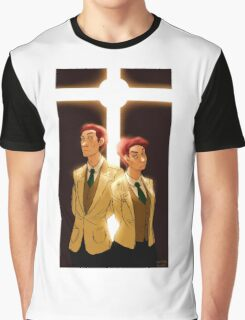 The Lutece Twins Graphic T-Shirt