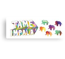 tame impala 5 Canvas Print