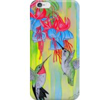 J Humming Bird iPhone Case/Skin