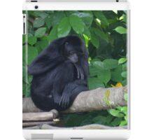 Black Monkey iPad Case/Skin