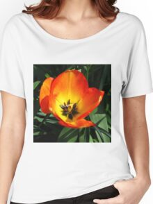 Flamboyant Tulip Women's Relaxed Fit T-Shirt