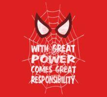 Spiderman Quote Kids Tee
