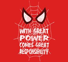Spiderman Quote Unisex T-Shirt