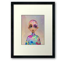 Starlight Pastel Framed Print