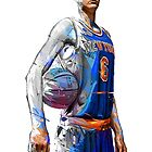 Kristaps Porzingis- New York Knicks by ReptilianMind