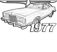 1977 Thunderbird by sandrasilvers