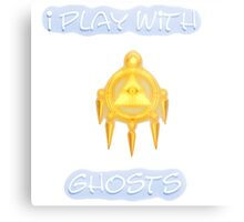 I Play With Ghosts Metal Print