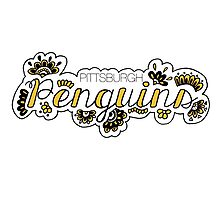 Pittsburgh Penguins - Girly Photographic Print