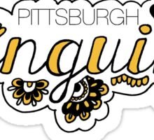 Pittsburgh Penguins - Girly Sticker