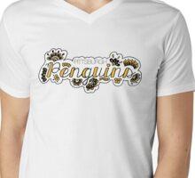 Pittsburgh Penguins - Girly Mens V-Neck T-Shirt