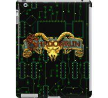 Shadowrun (Sega Genesis Title Screen) iPad Case/Skin