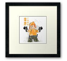 Lego Firefly Jayne Cobb Framed Print