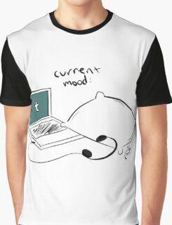 Internet Current Mood Print Graphic T-Shirt