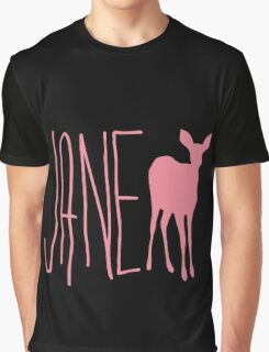 Life is strange Jane Doe pink Graphic T-Shirt