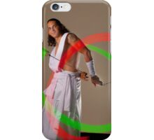 Poi portrait iPhone Case/Skin
